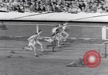 Image of track events between USA and Britain London England United Kingdom, 1936, second 6 stock footage video 65675035856