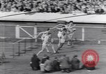 Image of track events between USA and Britain London England United Kingdom, 1936, second 7 stock footage video 65675035856
