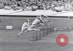 Image of track events between USA and Britain London England United Kingdom, 1936, second 8 stock footage video 65675035856