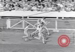 Image of track events between USA and Britain London England United Kingdom, 1936, second 9 stock footage video 65675035856