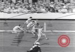 Image of track events between USA and Britain London England United Kingdom, 1936, second 11 stock footage video 65675035856