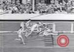 Image of track events between USA and Britain London England United Kingdom, 1936, second 12 stock footage video 65675035856