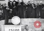 Image of US Navy submarine base band World War 1 bond drive United States USA, 1917, second 4 stock footage video 65675035872
