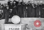 Image of US Navy submarine base band World War 1 bond drive United States USA, 1917, second 5 stock footage video 65675035872