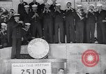 Image of US Navy submarine base band World War 1 bond drive United States USA, 1917, second 6 stock footage video 65675035872