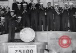 Image of US Navy submarine base band World War 1 bond drive United States USA, 1917, second 7 stock footage video 65675035872