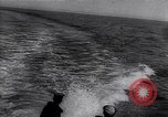 Image of navy's combat exercise in the seawaters Atlantic Ocean, 1917, second 8 stock footage video 65675035875