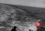 Image of navy's combat exercise in the seawaters Atlantic Ocean, 1917, second 9 stock footage video 65675035875