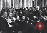 Image of Paris Peace Conference Versailles France, 1919, second 2 stock footage video 65675035879