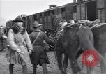 Image of American soldiers reach a French railroad station World War 1 France, 1917, second 6 stock footage video 65675035882