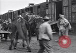Image of American soldiers reach a French railroad station World War 1 France, 1917, second 8 stock footage video 65675035882