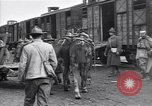 Image of American soldiers reach a French railroad station World War 1 France, 1917, second 9 stock footage video 65675035882