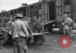 Image of American soldiers reach a French railroad station World War 1 France, 1917, second 10 stock footage video 65675035882
