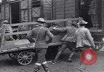 Image of American soldiers reach a French railroad station World War 1 France, 1917, second 12 stock footage video 65675035882
