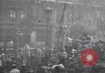 Image of celebration on day of Armistice Paris France, 1918, second 1 stock footage video 65675035883