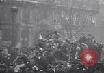 Image of celebration on day of Armistice Paris France, 1918, second 6 stock footage video 65675035883