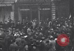 Image of celebration on day of Armistice Paris France, 1918, second 11 stock footage video 65675035883