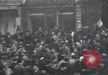 Image of celebration on day of Armistice Paris France, 1918, second 12 stock footage video 65675035883
