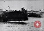 Image of German Navy submarine at a naval base Germany, 1942, second 3 stock footage video 65675035889