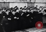 Image of German Navy submarine at a naval base Germany, 1942, second 7 stock footage video 65675035889