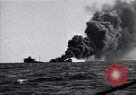 Image of sinking burning ship Atlantic Ocean off New Jersey USA, 1942, second 5 stock footage video 65675035894