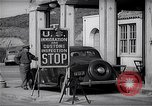 Image of US Customs at Tijuana border Tijuana Mexico, 1939, second 8 stock footage video 65675035921