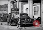Image of US Customs at Tijuana border Tijuana Mexico, 1939, second 9 stock footage video 65675035921