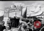 Image of May Day Celebrations Poland, 1952, second 2 stock footage video 65675035930