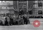 Image of Labour Day celebrations Moscow Russia Soviet Union, 1952, second 11 stock footage video 65675035931