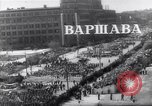 Image of May Day parade Poland, 1952, second 2 stock footage video 65675035932
