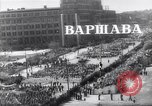 Image of May Day parade Poland, 1952, second 3 stock footage video 65675035932