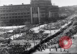 Image of May Day parade Poland, 1952, second 4 stock footage video 65675035932