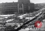 Image of May Day parade Poland, 1952, second 5 stock footage video 65675035932