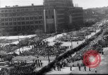 Image of May Day parade Poland, 1952, second 6 stock footage video 65675035932