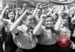Image of May Day parade Poland, 1952, second 7 stock footage video 65675035932