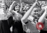 Image of May Day parade Poland, 1952, second 8 stock footage video 65675035932