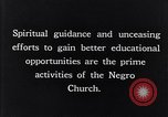 Image of church and school for negroes South Carolina United States USA, 1936, second 5 stock footage video 65675035948