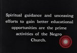 Image of church and school for negroes South Carolina United States USA, 1936, second 6 stock footage video 65675035948