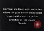 Image of church and school for negroes South Carolina United States USA, 1936, second 7 stock footage video 65675035948