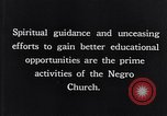 Image of church and school for negroes South Carolina United States USA, 1936, second 12 stock footage video 65675035948
