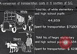 Image of transportation of negro pupils South Carolina United States USA, 1936, second 1 stock footage video 65675035954