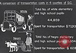 Image of transportation of negro pupils South Carolina United States USA, 1936, second 3 stock footage video 65675035954