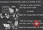 Image of transportation of negro pupils South Carolina United States USA, 1936, second 5 stock footage video 65675035954
