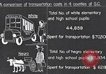 Image of transportation of negro pupils South Carolina United States USA, 1936, second 8 stock footage video 65675035954