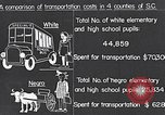 Image of transportation of negro pupils South Carolina United States USA, 1936, second 10 stock footage video 65675035954