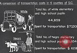 Image of transportation of negro pupils South Carolina United States USA, 1936, second 12 stock footage video 65675035954
