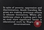 Image of segregated residential schools South Carolina United States USA, 1936, second 2 stock footage video 65675035955