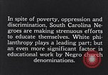 Image of segregated residential schools South Carolina United States USA, 1936, second 3 stock footage video 65675035955