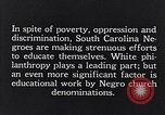 Image of segregated residential schools South Carolina United States USA, 1936, second 5 stock footage video 65675035955
