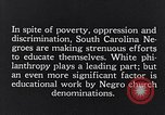 Image of segregated residential schools South Carolina United States USA, 1936, second 10 stock footage video 65675035955
